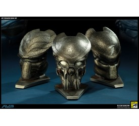 Alien vs Predator Replicas 1/4 Masks SDCC 2011 Exclusive Version Set 10 cm (3)